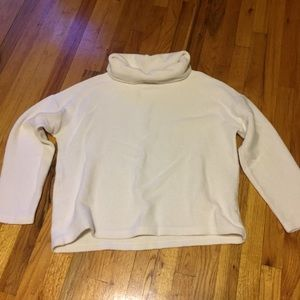 Cozy cowl neck sweatshirt